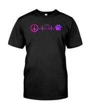 Hippie And Dog Classic T-Shirt thumbnail