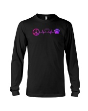 Hippie And Dog Long Sleeve Tee thumbnail