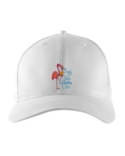 Flamingo Sandy Toes Embroidered Hat thumbnail