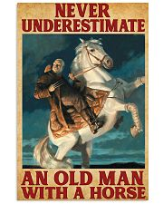 Old Man With A Horse 11x17 Poster front