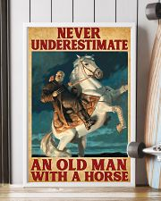 Old Man With A Horse 11x17 Poster lifestyle-poster-4