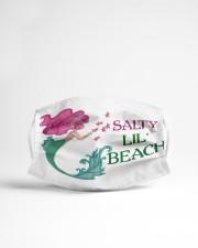 Mermaid Salty Lil' Beach  Cloth face mask aos-face-mask-lifestyle-22