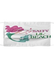 Mermaid Salty Lil' Beach  Cloth face mask front