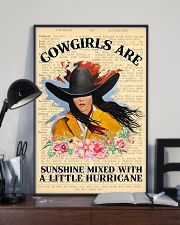 Cowgirl Are Sunshine 11x17 Poster lifestyle-poster-2