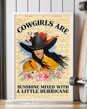 Cowgirl Are Sunshine 11x17 Poster lifestyle-poster-4