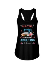 Quilting Ladies Flowy Tank thumbnail