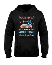 Quilting Hooded Sweatshirt thumbnail
