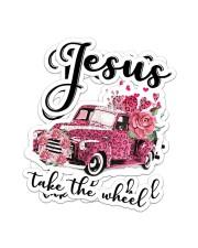 Jesus Take The Wheel Sticker - 2 pack (Vertical) thumbnail