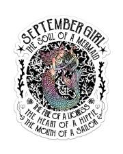September Girl Sticker - Single (Vertical) front