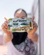 Fishing Flip Flops Girl NTV Cloth face mask aos-face-mask-lifestyle-07