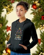 Merry Christmas Hooded Sweatshirt lifestyle-holiday-hoodie-front-4