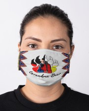 Native Grandma Bear Cloth face mask aos-face-mask-lifestyle-01