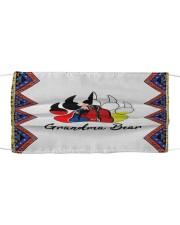 Native Grandma Bear Cloth face mask front