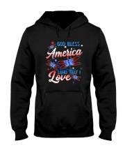 God Bless America Hooded Sweatshirt thumbnail