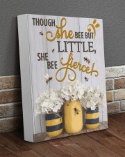 She Bee Fierce 11x14 Gallery Wrapped Canvas Prints aos-canvas-pgw-11x14-lifestyle-front-10