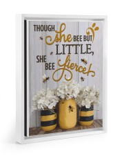 She Bee Fierce 11x14 White Floating Framed Canvas Prints thumbnail