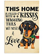 Dachshund Home 11x17 Poster front