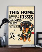 Dachshund Home 11x17 Poster lifestyle-poster-2
