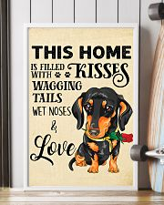 Dachshund Home 11x17 Poster lifestyle-poster-4