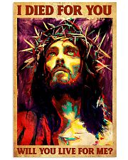 Jesus I Died For You 11x17 Poster front