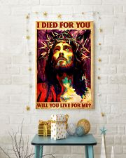 Jesus I Died For You 11x17 Poster lifestyle-holiday-poster-3