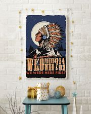 Native We Were The First 11x17 Poster lifestyle-holiday-poster-3