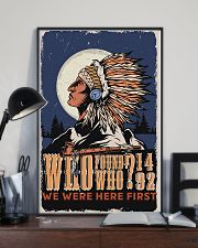 Native We Were The First 11x17 Poster lifestyle-poster-2