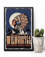 Native We Were The First 11x17 Poster lifestyle-poster-8
