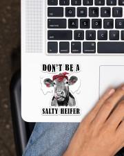 Don't Be A Salty Heifer Sticker - Single (Vertical) aos-sticker-single-vertical-lifestyle-front-11