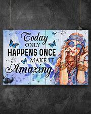 Hippie Make It Amazing NTV 17x11 Poster poster-landscape-17x11-lifestyle-12