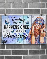 Hippie Make It Amazing NTV 17x11 Poster poster-landscape-17x11-lifestyle-18