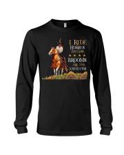 I Ride Horses Long Sleeve Tee thumbnail