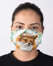Fox Floral Cloth face mask aos-face-mask-lifestyle-01