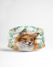 Fox Floral Cloth face mask aos-face-mask-lifestyle-22