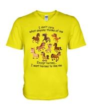 I Want Horses To Like Me V-Neck T-Shirt thumbnail