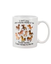 I Want Horses To Like Me Mug thumbnail