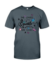 She Leaves A Little Sparkle Wherever She Goes Classic T-Shirt tile