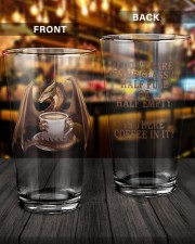 Dragon Coffee 16oz Pint Glass aos-16oz-pint-glass-lifestyle-front-14