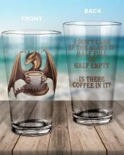 Dragon Coffee 16oz Pint Glass aos-16oz-pint-glass-lifestyle-front-17