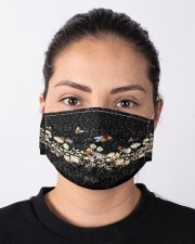 For Bee Lovers Cloth face mask aos-face-mask-lifestyle-01