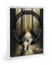 Every Little Thing 11x14 White Floating Framed Canvas Prints thumbnail