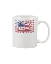Sew Machine Us Flag Mug thumbnail