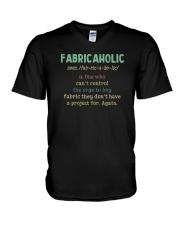 Fabricaholic V-Neck T-Shirt thumbnail