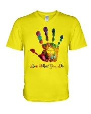 Love What You Do V-Neck T-Shirt thumbnail
