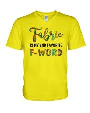 Fabric V-Neck T-Shirt thumbnail