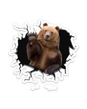 Bear  Sticker - Single (Vertical) front