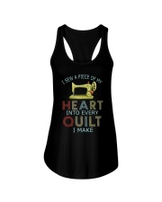 Quilting In My Heart Ladies Flowy Tank thumbnail