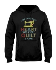 Quilting In My Heart Hooded Sweatshirt thumbnail