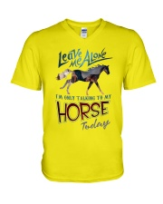 I'm Only Talking To My Horse Today V-Neck T-Shirt thumbnail