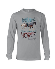 I'm Only Talking To My Horse Today Long Sleeve Tee thumbnail